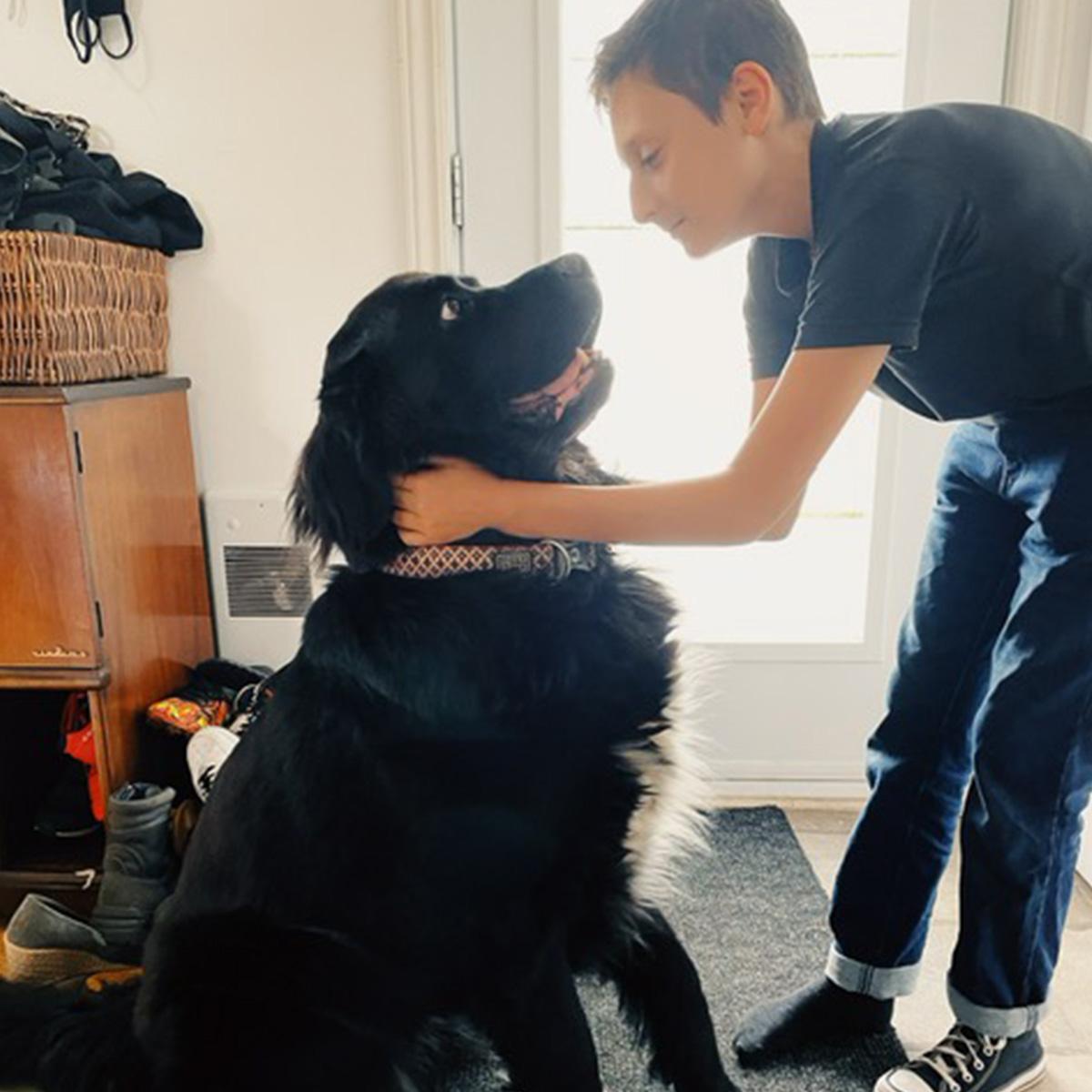 Photo de Félix et Molly (chienne)