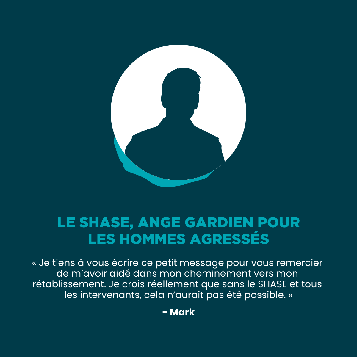SHASE Estrie - testimonial Mark