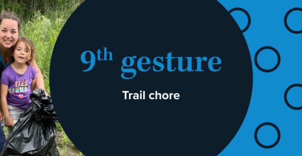 Cible - gesture 9 - trail chore